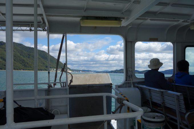 三原港から生名島までの船旅。