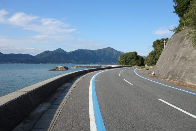 ゆめしま海道 岩城島のサイクリングコース