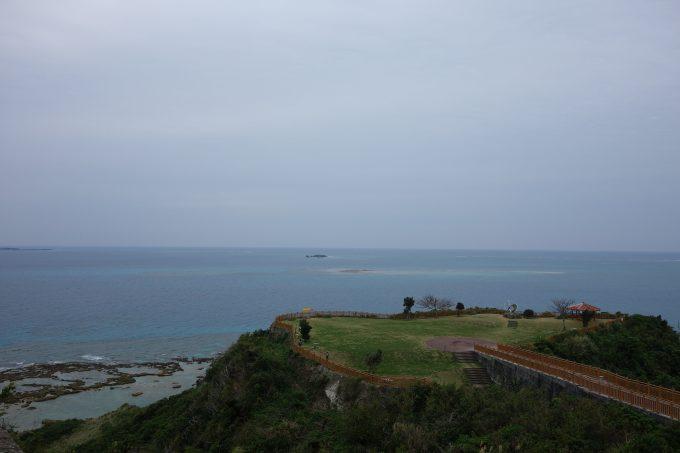 沖縄サイクリング 沖縄本島南部一周 知念岬公園