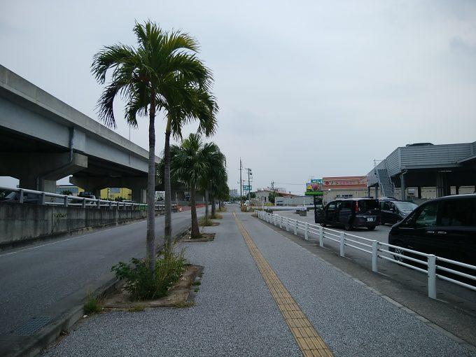 沖縄サイクリング 沖縄本島南部一周 那覇の高架道路