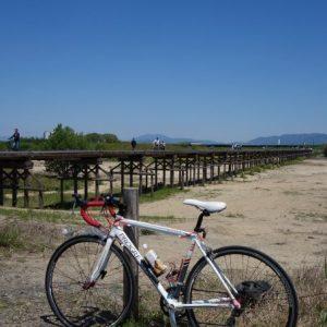 木津川・流れ橋を見に行こう!大阪-京都河川敷サイクリング