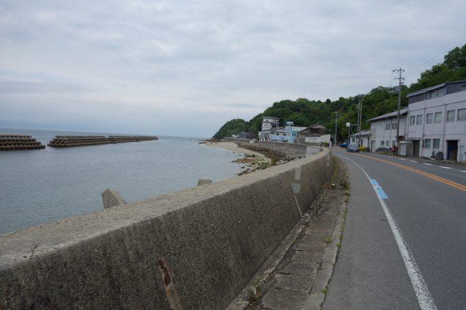はまかぜ海道、今治手前の道路