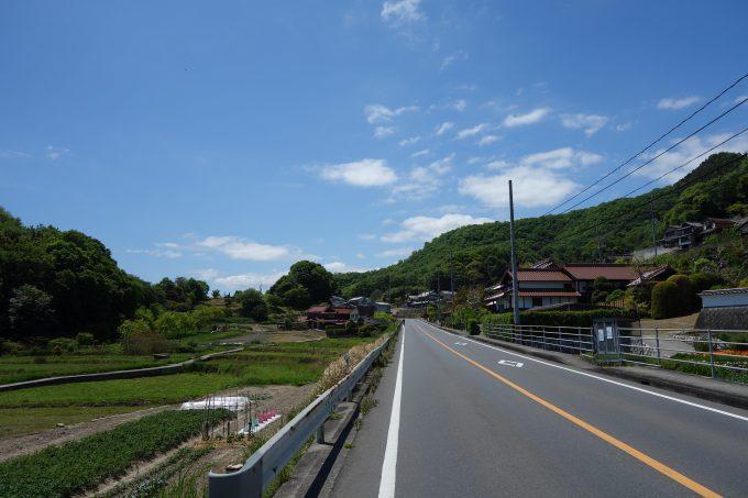 さざなみ海道 里山の景色
