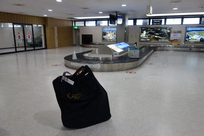 空港の手荷物受取場所