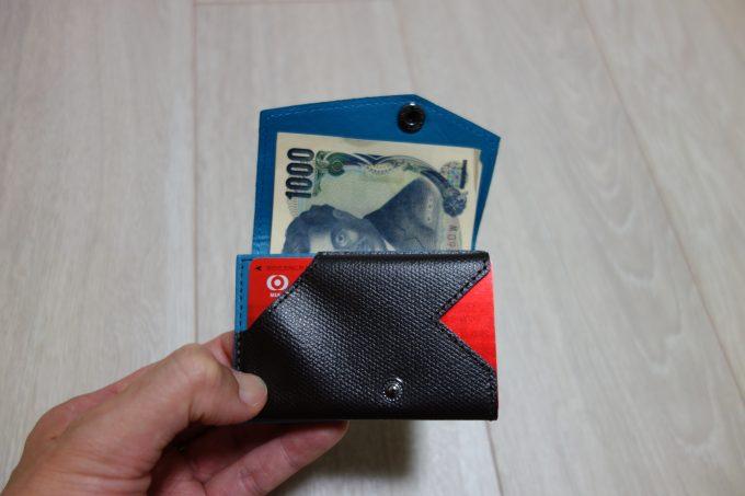 ロードバイク用財布 abrasus(アブラサス)小さい財布のカードホルダー