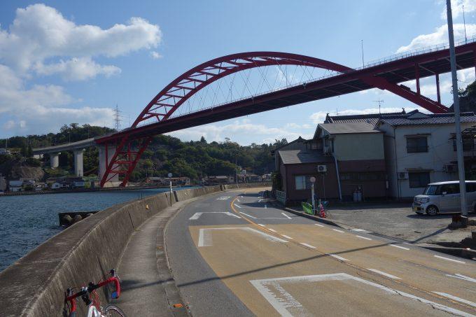 かきしま海道 音戸の瀬戸 第二音戸大橋