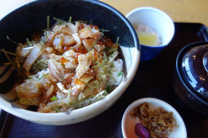とびしま海道 かつら亭蒲刈本店の漁師丼
