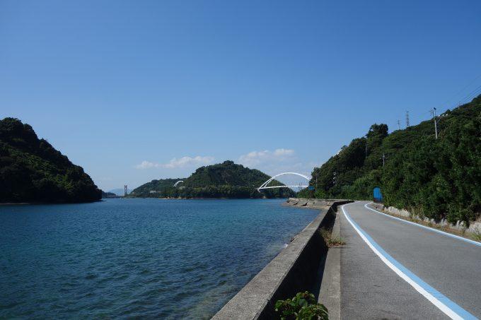 とびしま海道 岡村島の景色