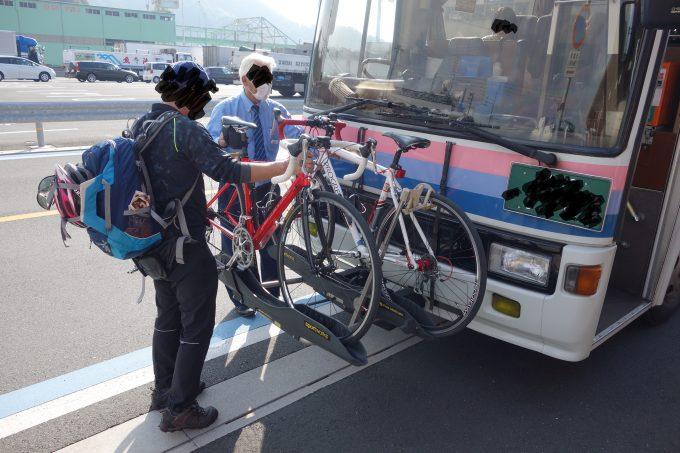 伊予鉄サイクルバス