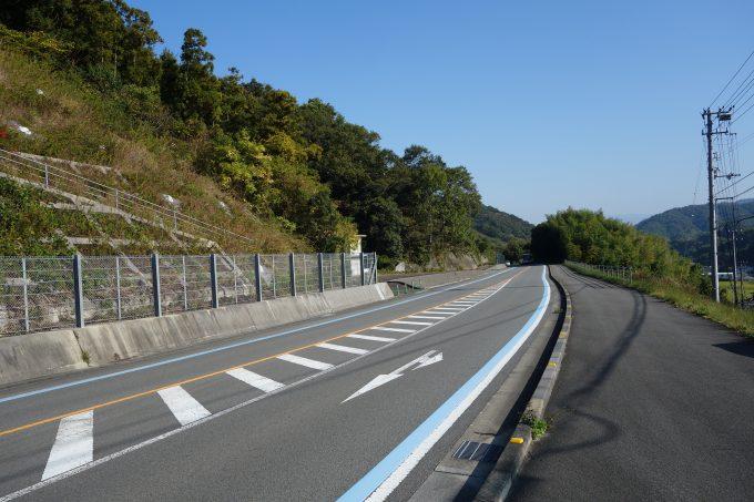 せとかぜ海道の広くきれいな道路