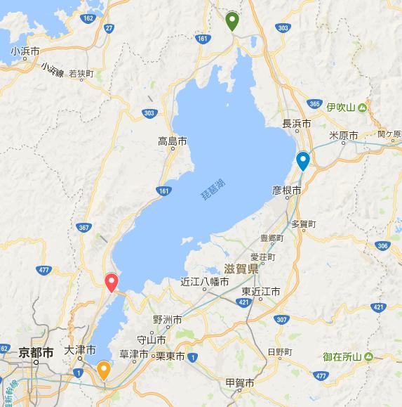 自転車で琵琶湖一周「ビワイチ」のおすすめスタート駅と宿泊場所