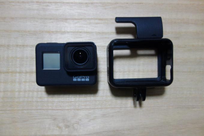 GoPro HERO7 Blackの本体とカバー