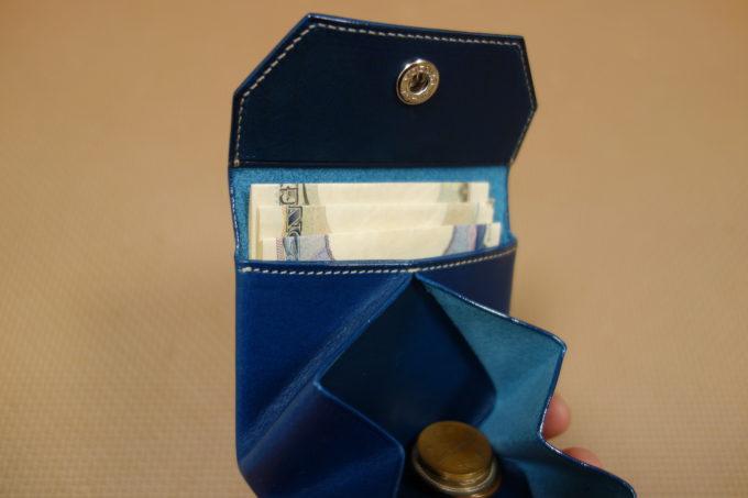 ATELIER Hab(アトリエハブ)折り畳み財布 お札入れ