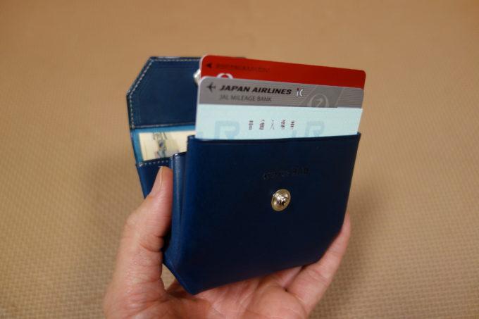ATELIER Hab(アトリエハブ)折り畳み財布 カードホルダー