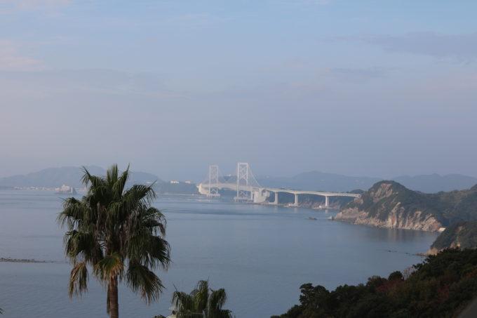アワイチおすすめホテル ホテル&リゾーツ南淡路(南淡路ロイヤルホテル)から見る大鳴門橋
