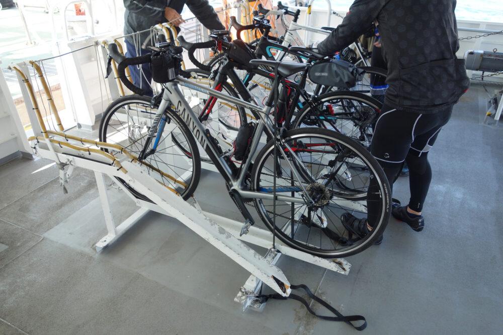 明石~淡路島岩屋ジェノバラインに自転車を載せる方法