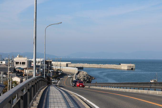 淡路島一周アワイチ 由良大橋