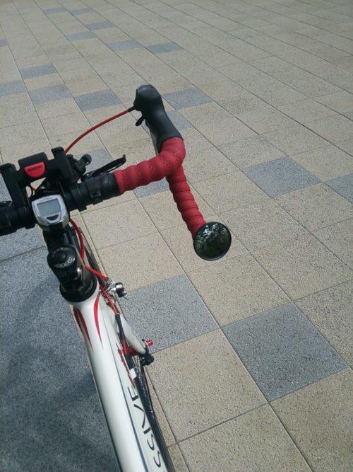 【ロードバイク用バックミラー】自転車の後ろを見る安全アイテムが便利なので広めたい