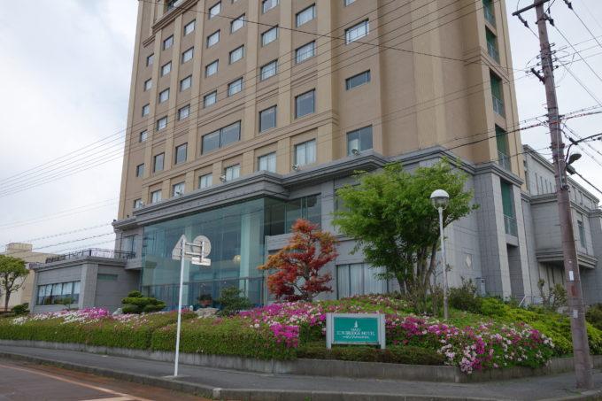 ビワイチの宿泊 今津サンブリッジホテル ホテル外観