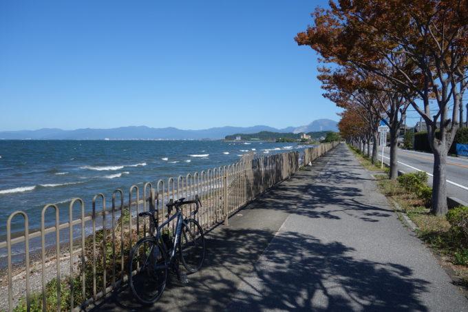 ビワイチ気分の日帰りサイクリング!レンタサイクルで琵琶湖をゆるり
