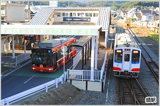 気仙沼線・大船渡線BRTの駅イメージ