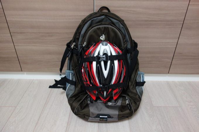 ロードバイク用リュック ドイタートランスアルパイン25