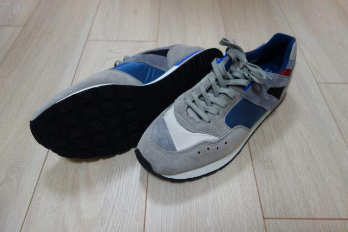 リプロダクション オブ ファウンド フレンチトレーナー 外観と靴底