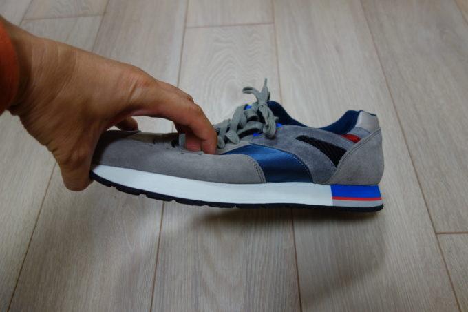 リプロダクション オブ ファウンド フレンチトレーナー 固い靴底