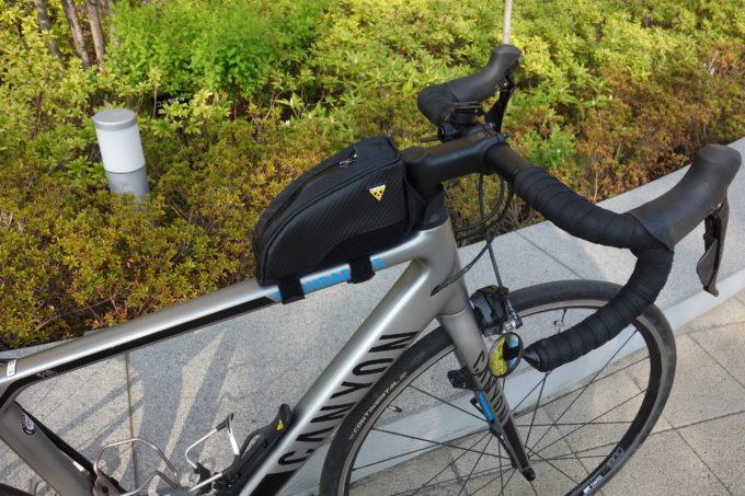 ロードバイク用フロントバッグ|使いやすい形はどれ?タイプ別の特徴をまとめてみた!