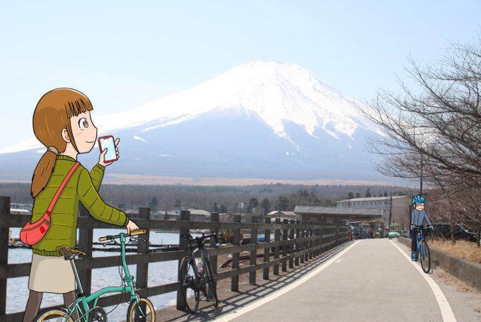 【自転車で富士山サイクリング】途中で立ち寄るグルメ&観光スポットを紹介