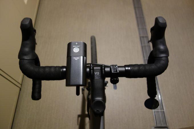 ガシロン フロントライトV9D-1600 装着イメージ