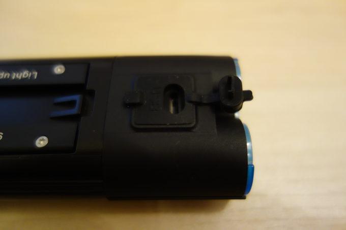 ガシロン フロントライトV9D-1800 リモコン用コネクタ