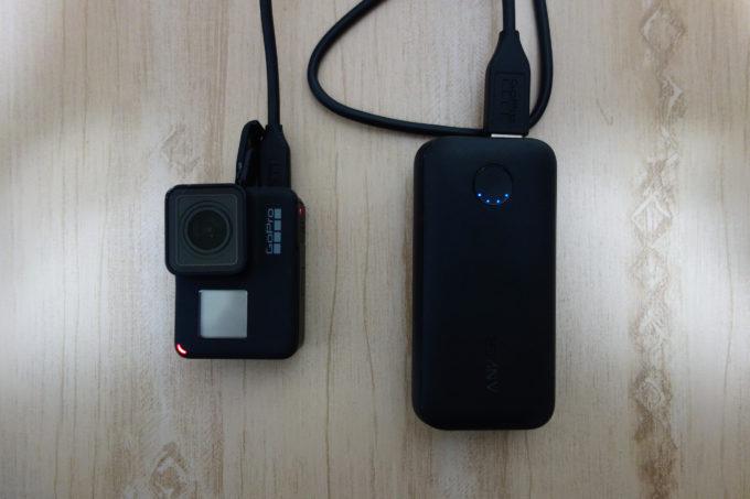 【計った】GoPro HERO7 Blackはモバイルバッテリーで撮影時間がどれだけ伸びるのか?大実験!