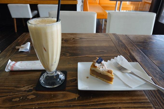 しまなみ海道・伯方島 パティスリー・ティーズカフェ玉屋のケーキ
