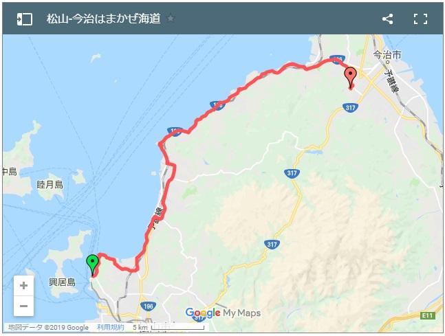 はまかぜ海道サイクリングルートログ