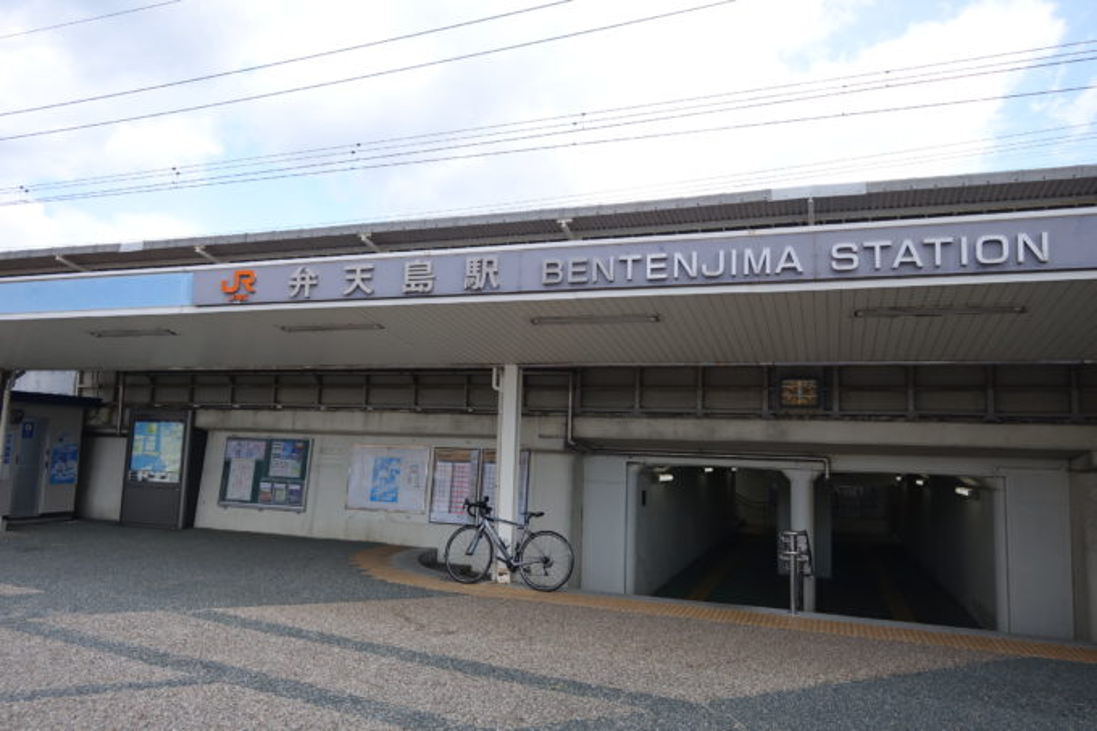 JR弁天島駅