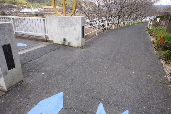 浜名湖ハマイチ みをつくし橋の曲がり角