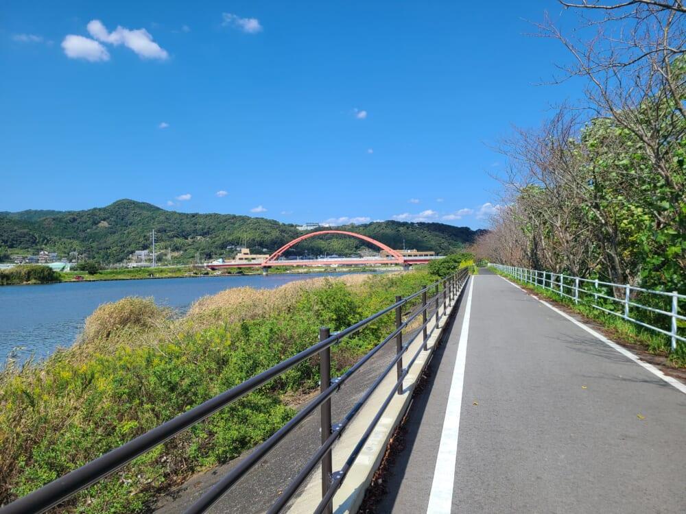 浜名湖一周サイクリング ハマイチ みをつくし橋