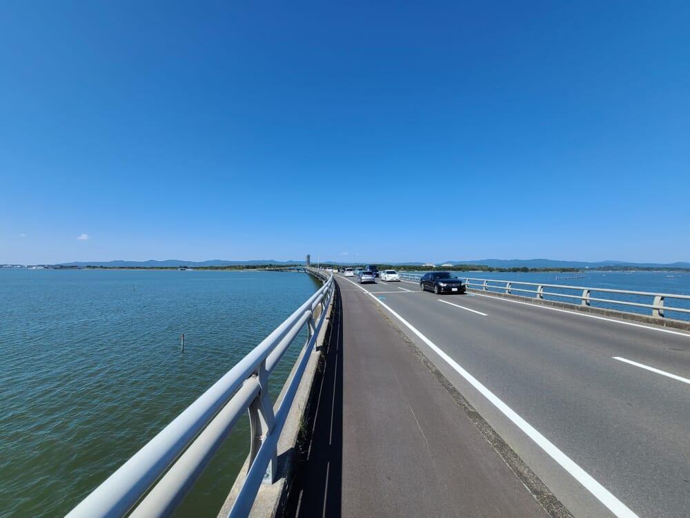 浜名湖一周サイクリング ハマイチ 浜名湖大橋