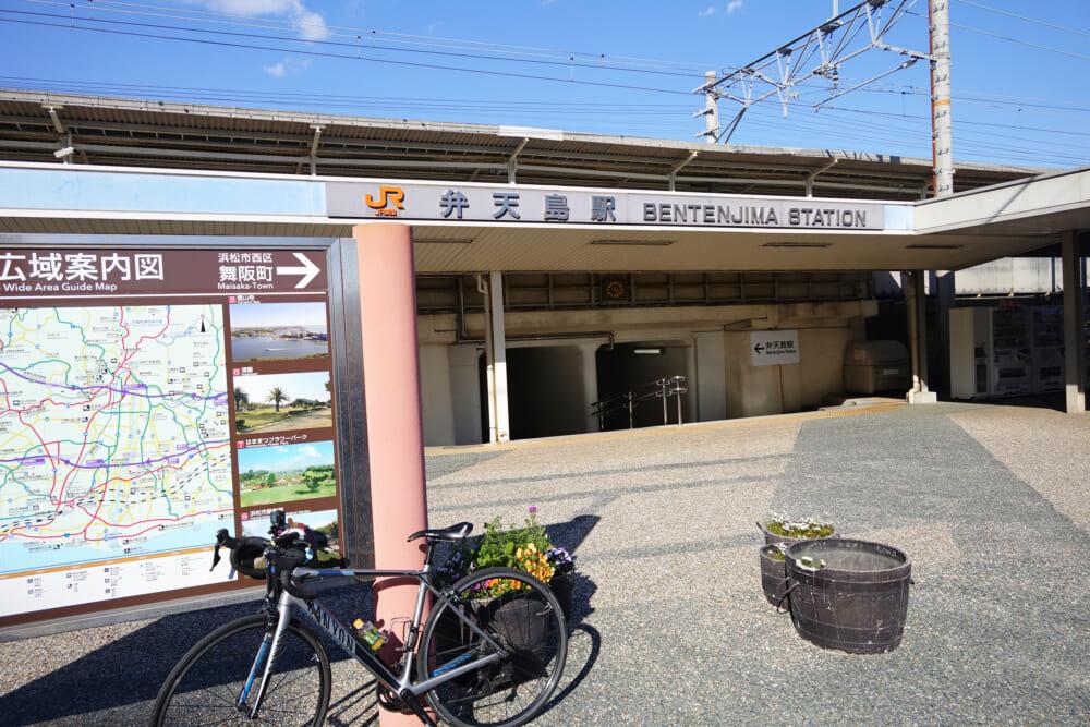 夕方のJR弁天島駅