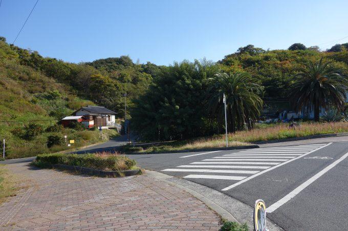 しまなみ海道因島 はっさく屋の看板遠景