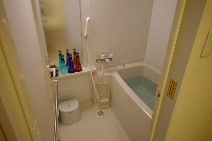 霞ヶ浦かすいち宿泊におすすめホテル ホテルグリーンコア土浦のお風呂