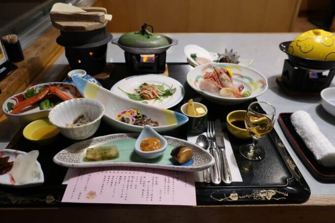 南三陸ホテル観洋の夕食
