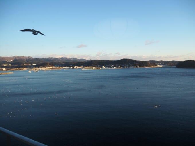 南三陸ホテル観洋 朝の海
