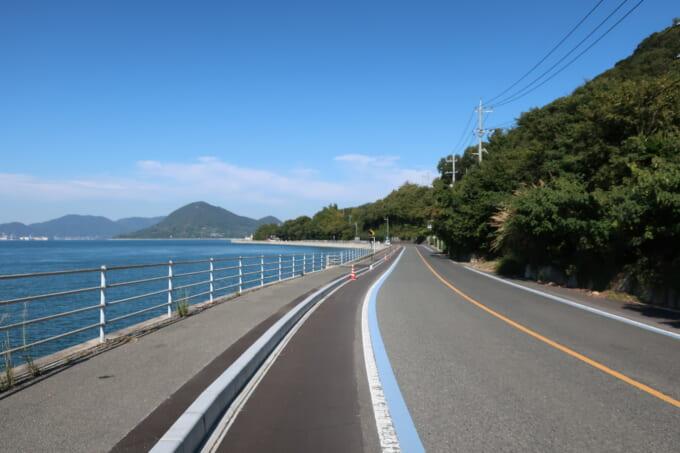生口島瀬戸田の道路