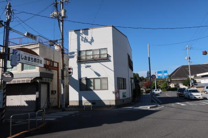 しまなみ海道生口島 瀬戸田しおまち商店街の入り口