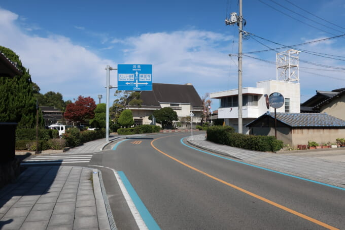 生口島 瀬戸田の道路