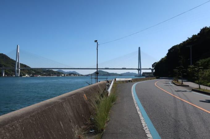 生口島から見る生口橋