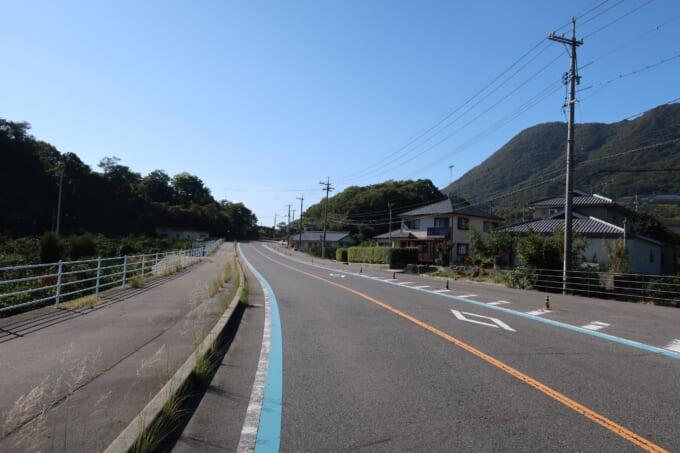 生口島南側の坂