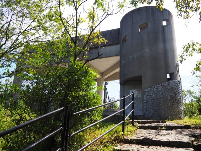 糸山公園展望台の外観